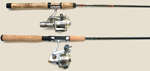 Fishing rod and reel parts