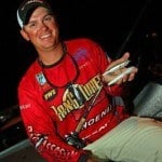 professional bass fisherman Drew Benton