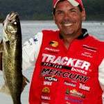Pro walleye angler Gary Parsons