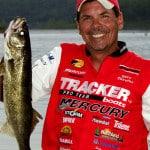 Pro walleye angler Gary Parsons