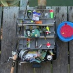 Almost all the fishing equipment angler would need