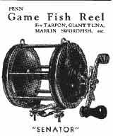 penn reels game fish reel senator