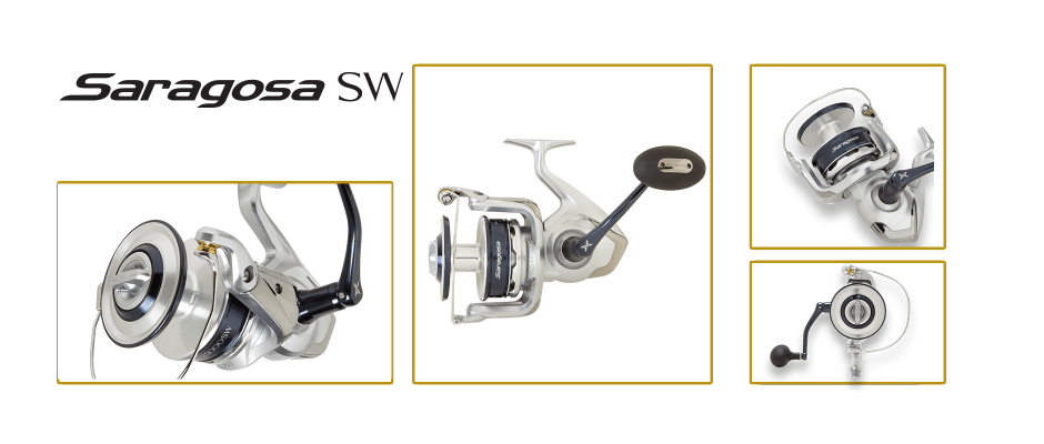 Shimano Saragossa SW multiple views